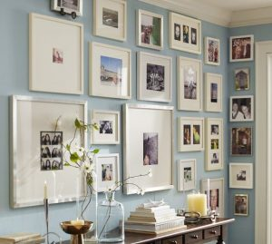 Walls revamped with pictures